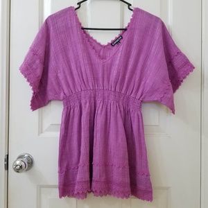 EXPRESS Light Purple Blouse NWOT